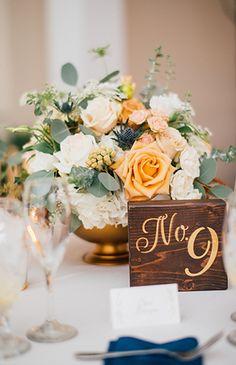 6739ae8c4deba 317 Best Wedding Table Numbers images in 2017 | Wedding tables ...