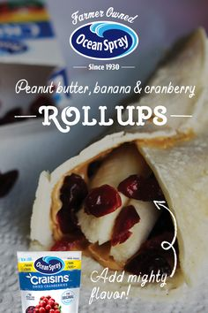 It& a flavor combo fit for a King, and we bet your little prince and princess will like these Peanut Butter, Banana and Craisins® Dried Cranberries Rollups, too! Lunch Snacks, Healthy Snacks, Appetizer Recipes, Snack Recipes, Appetizers, Tortellini Recipes, Sangria Recipes, Peanut Butter Banana, Sweet Potato Recipes