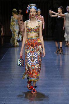 ドルチェ&ガッバーナ 2016年春夏ウィメンズコレクション - イタリアに恋して | ニュース - ファッションプレス