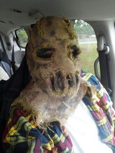 Scarecrow Mask.