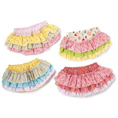 Happi Ruffled Baby Diaper Cover  by Twos Company