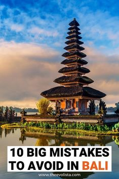 The 10 biggest mistakes to avoid for Bali first timers. Make the most of your vacation to the beautiful, exotic, bucket list island of Bali. Bali Travel Guide, Asia Travel, Travel Guides, Travel Tips, Travel Nepal, Lombok, Komodo, Amazing Destinations, Travel Destinations
