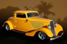 33 Ford 3-window coupe