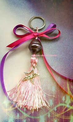 Lucky Charm, Pink Purple, Tassel Necklace, Charms, Drop Earrings, Personalized Items, Facebook, Handmade, Accessories