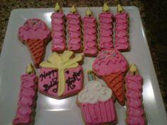 Kristen's 41st Birthday cookies