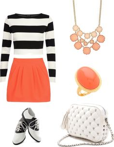 """""""Striped Candy-Pink"""" by amanda-llario ❤ liked on Polyvore"""