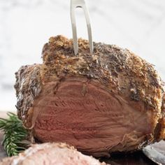 Leg of Lamb with Fresh Mint Sauce is roasted with rosemary and studded with garlic. The recipe's here! Boneless Leg Of Lamb, Mint Sauce, Sunday Suppers, Supper Recipes, Fresh Mint, Easter Recipes, Roast, Coconut, Meals