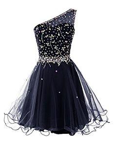 Dresstells® Women's Short One Shoulder Prom Dress Evening Dress Homecoming Dress with Beads Dresstells http://www.amazon.co.uk/dp/B00WR0SSWS/ref=cm_sw_r_pi_dp_.NNFvb1KHHYCY