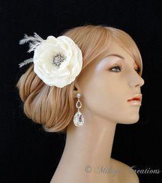 Chandelier Bridal Earrings Wedding Jewelry by MikiyeCreations