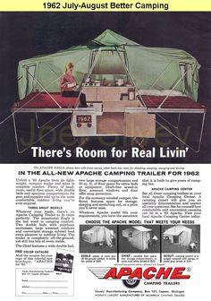 1969 apache pop up camper - Google Search