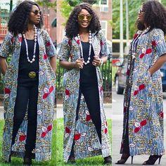 Latest Ankara Kimono Styles 2018 : Most Recent African DressesLatest Ankara Styles and Aso Ebi Styles 2020 Latest African Fashion Dresses, African Print Dresses, African Print Fashion, African Wear, African Attire, African Dress, Ankara Fashion, Ankara Clothing, Ankara Styles