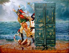 Cuban Artists: Enrique Toledo, Cuban surrealist painter, lives and works in Santa Clara, Cuba. Toledo is a contemporary master of the baroque and classical.