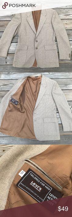 f0c2c6d352792e Levi s Action Suit Men Blazer Sportwear Coat Jacke Levi s Action Suit Men  Blazer Sportwear Coat Jacket