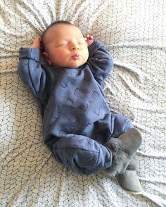 VONBON Fleece Antler Romper #vonbon #babyboy #babystyle