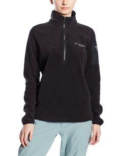 aa8f98e12427 Columbia Women s Titan Pass 1.0 Half Zip Fleece Jacket