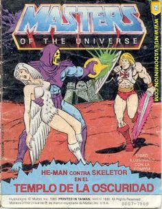 Tierra de Figuras: MOTU - Comics y mini-comics (sólo cambios)