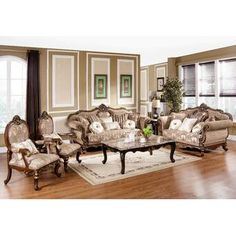 Looking for Encinas 3 Piece Living Room Set Astoria Grand ? Check out our picks for the Encinas 3 Piece Living Room Set Astoria Grand from the popular stores - all in one. Traditional Living Room Furniture, Family Furniture, Traditional Sofa, Furniture Deals, Cottage Furniture, Furniture Online, Bedroom Furniture, Royal Furniture, Living Room Table Sets