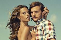 SS 2013 Colcci ft. Ashton Kutcher y Alessandra Ambrosio