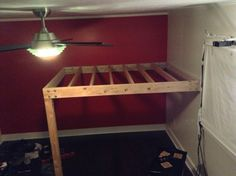 how to build a full size loft bed - Google Search