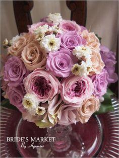 プリザーブドフラワーのブーケ weddingbouquet- AGEMINI