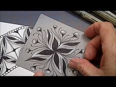 Cadent and Cadentoo Tangle Pattern Lesson #124 - YouTube