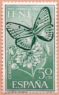 Sello Ifni de 50 céntimos, Pro Infancia, 1963 - Portal Fuenterrebollo