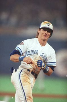 Kelly Gruber - The only Blue Jay to hit for the cycle