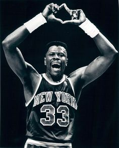 Patrick Ewing. New York Knicks.
