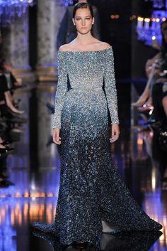 Elie Saab Fall 2014 Couture Fashion Show - Josephine Le Tutour (Elite)
