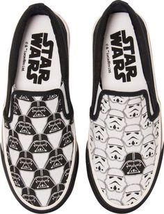 Tênis da saga Star Wars: tal pai, tal filho.