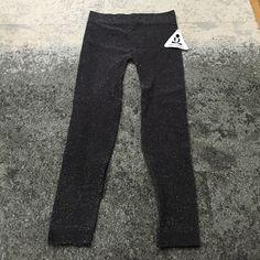 Phat Buddha grey sparkly Capri workout pants ✨brand new with tags ✨ Phat Buddha Jane Glitter Capri -Nine Iron. Great for yoga, dance, spin, etc. 100% seamless Phat buddha  Pants Leggings