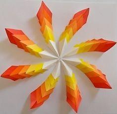 3 D Geometric Art Awesome paper art. Mid-Century Art Modern Art Retro Print Geometric a # # # Ideen Tattoo Geometric Black SuperFunny wall art, bath art, PRINTABLE art, set o Origami Design, Diy Origami, Useful Origami, 3d Paper Art, Origami Paper Art, Diy Paper, Paper Crafting, Paper Folding Crafts, Origami Geometric Shapes