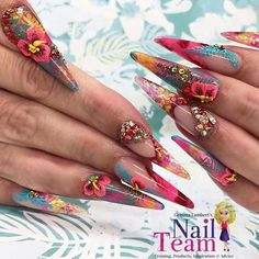 Gorgeous floralbeauties by @gemmalambert .  .  .  Check out more pics at #P4NA .  .  .  #nails2inspire #pointynails #nailsthatslay #nailartaddict #nailsoftheday #nails #nailart #nägel #uñas #爪 #naglar #unhas #unghie #paznokcie #ногти #nailswag #flowers #nogti #釘子 #naels #manicura #sundaynails #nailsofinstagram #notd #nails #nailsjunkie #instagramnails #PASSIONATENAILTECHS #PASSION4NAILART #P4NA
