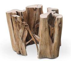 Raiz natural para base de mesa - Loja de Móveis de Madeira Maciça. Moveis Rusticos
