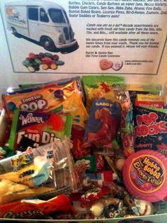 Old Time Candy Names | ... win a huge box packed full of 1980′s candy?! Hurry and enter below