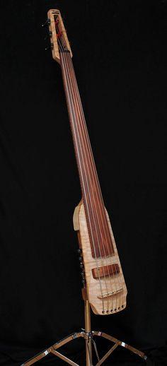 Mørch Guitars, 6-string electric upright bass Made in Ørsted, Denmark