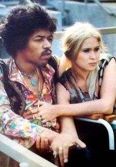 Jimi Hendrix and Carmen Borrero, 1968