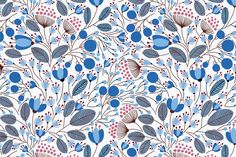 Ad: Floral Pattern by Maria Galybina on Are you having a great day? If not, let this lovely floral pattern cheer you up. I see it on some beautiful dresses or skirts, cute jumpers Floral Pattern Wallpaper, Floral Pattern Vector, Floral Patterns, Graphic Patterns, Cool Pictures, Beautiful Pictures, Cute Jumpers, Trending Art, Laptop Wallpaper
