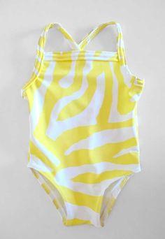 Basic Baby Swim Suit Sewing Pattern (FREE)