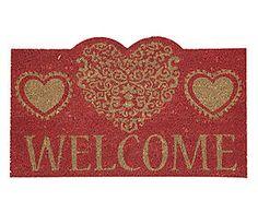 Zerbino in cocco Welcome naturale e rosso - 75x45x2 cm Fantasy, Home Decor, Decoration Home, Room Decor, Fantasy Books, Fantasia, Home Interior Design, Home Decoration, Interior Design