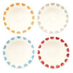Beautiful colourful plates!