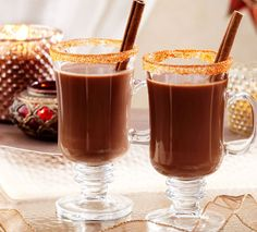 Spicy Chocolate Reindeer Cocktail Recipe via Cost Plus World Market >> #WorldMarket Holiday Entertaining