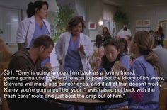 Greys Anatomy Bailey's take on talking George out of joining the Army. My Favorite Grey's Moments awww before they new George was the guy hit by the bus :( Greys Anatomy George, Greys Anatomy Funny, Grey Anatomy Quotes, Grey's Anatomy, Best Tv Shows, Best Shows Ever, Dark And Twisty, Youre My Person, Meredith Grey