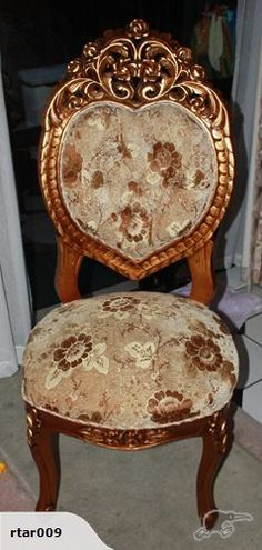 ornate antique dining table chair