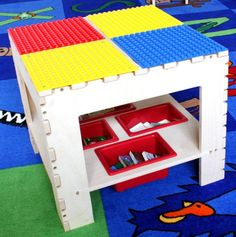 Building Block Activity Table.