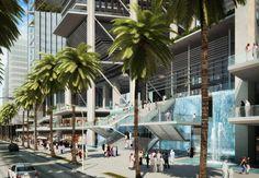 richard rogers stirk harbour partners al maryah plaza abu dhabi designboom