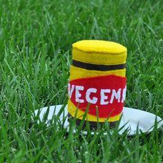 vegemite {felt food}