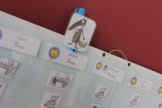 A LITTLE ARTISTIC THING EVERYDAY: L'art de faire un semainier pour enfant