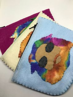 Excited to share this item from my shop: Grateful Dead Jerry Garcia Pouch Felt Pouch, Grateful Dead, Coin Purse, Etsy Shop, Unique Jewelry, Handmade Gifts, Kid Craft Gifts, Felt Purse, Craft Gifts