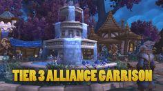 nice World of Warcraft: Warlords of Draenor Beta - Tier 3 Alliance Garrison